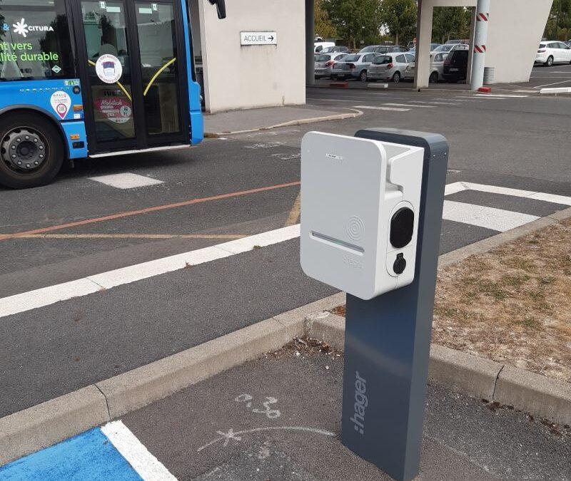 Installation de bornes de recharges pour véhicules électriques – Ville de Reims